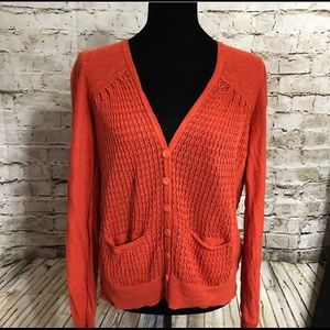 SPARROW RUSTIC ORANGE SWEATER